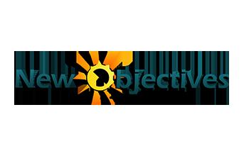 New Objectives - Logo & Branding   Rare Pixel Design