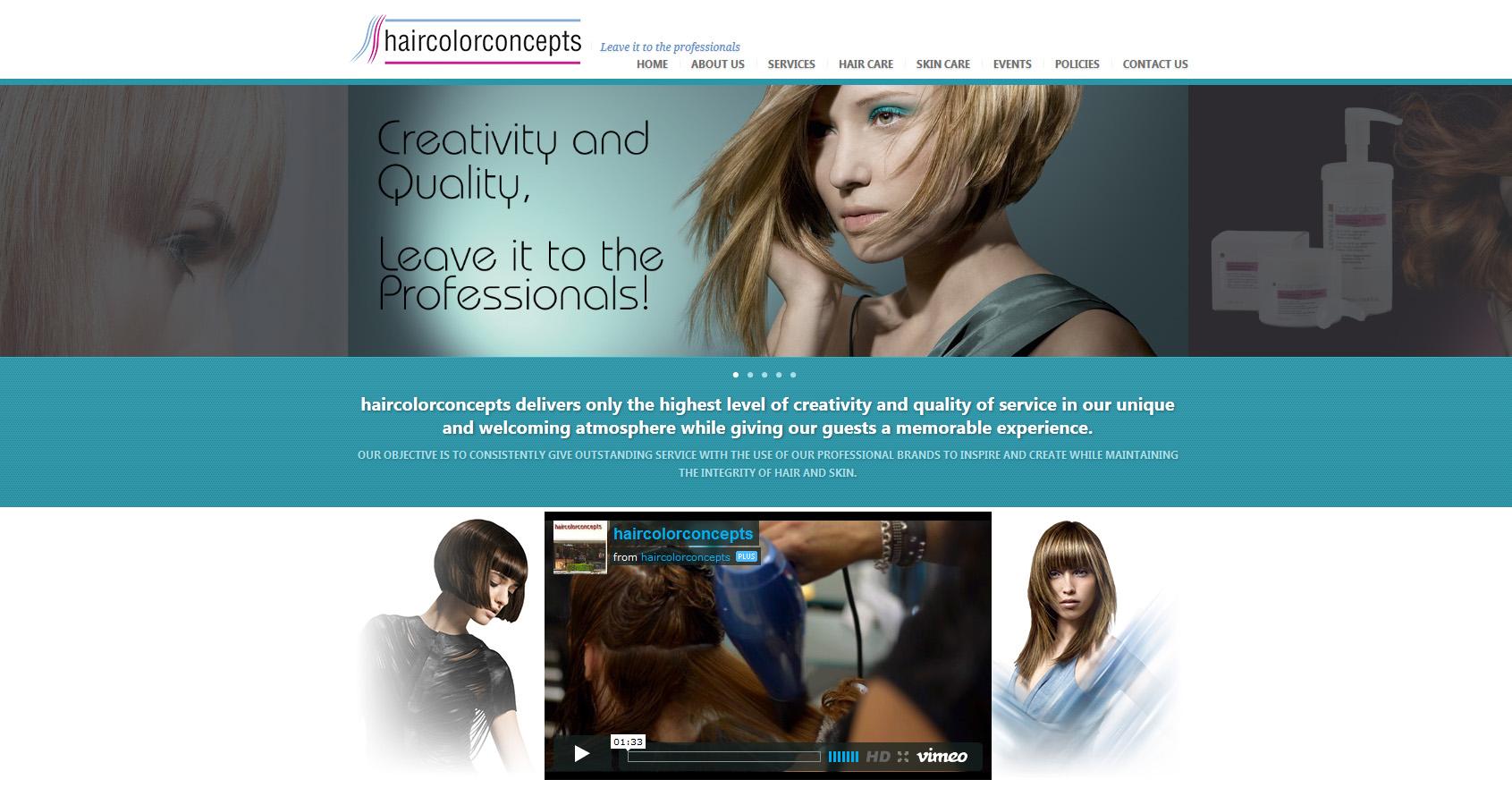 Haircolorconcepts Rare Pixel Design