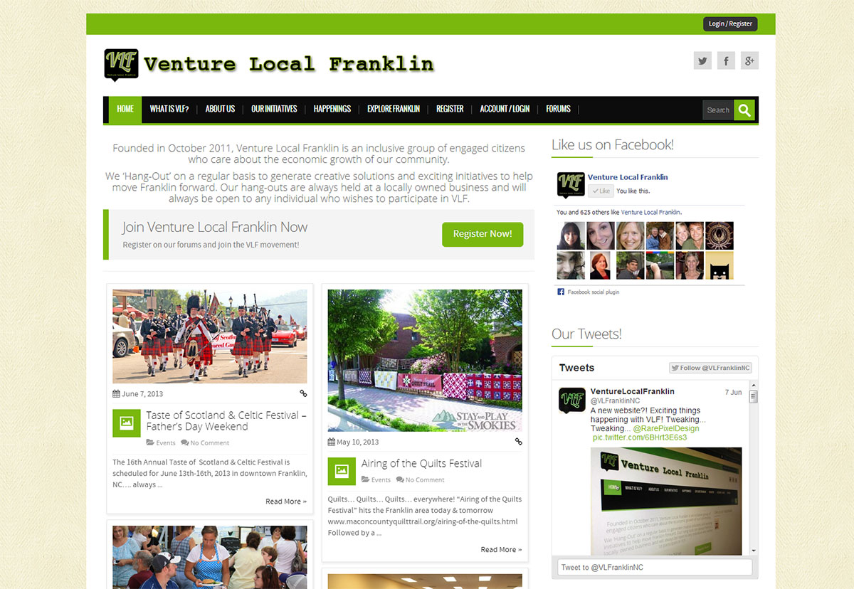 Venture Local Franklin