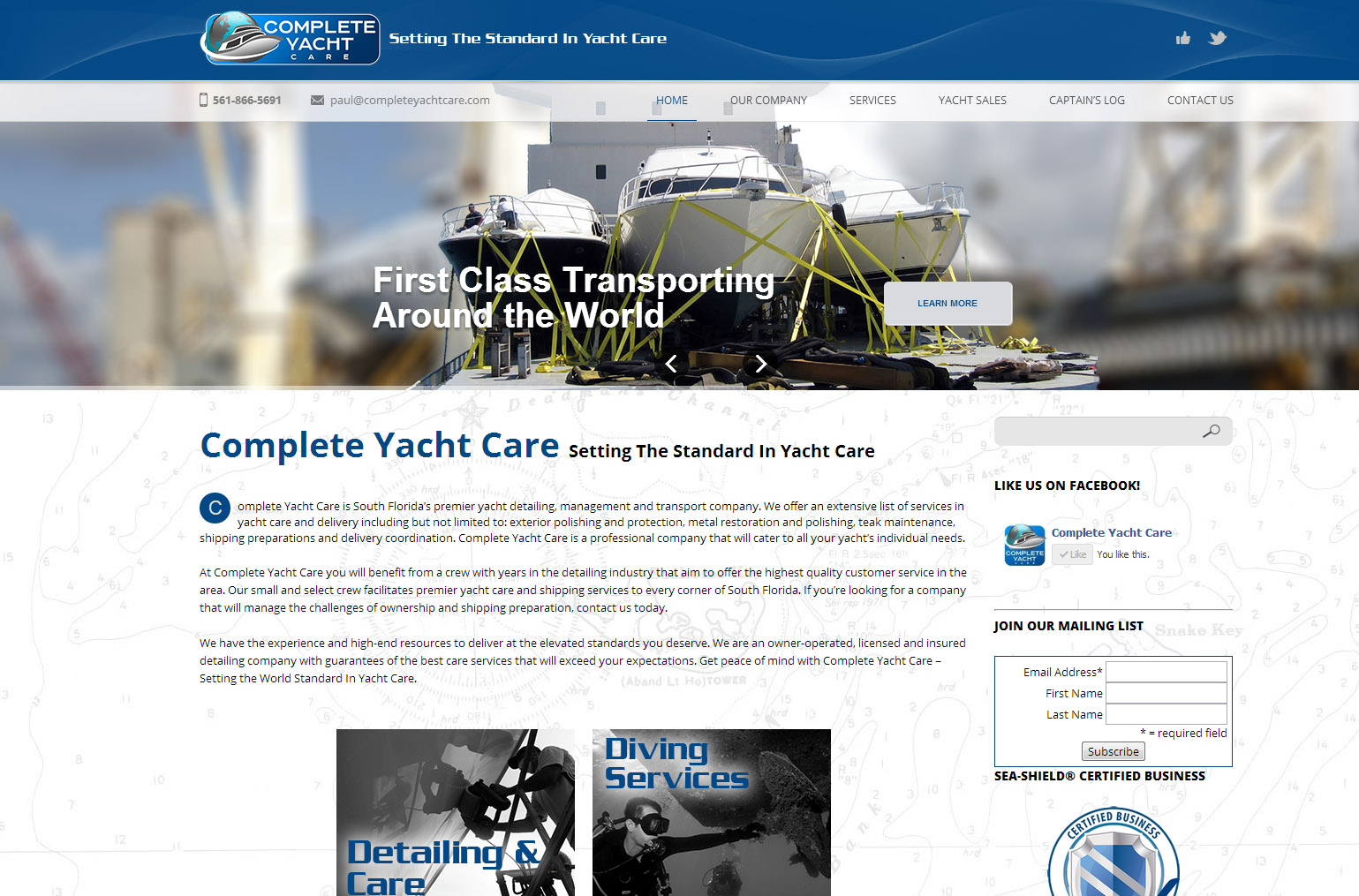 Complete Yacht Care Portfolio